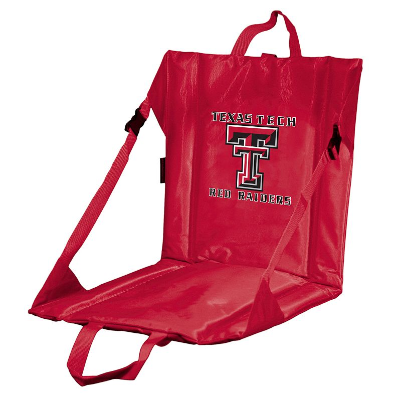 Logo Brand Texas Tech Red Raiders Folding Stadium Seat