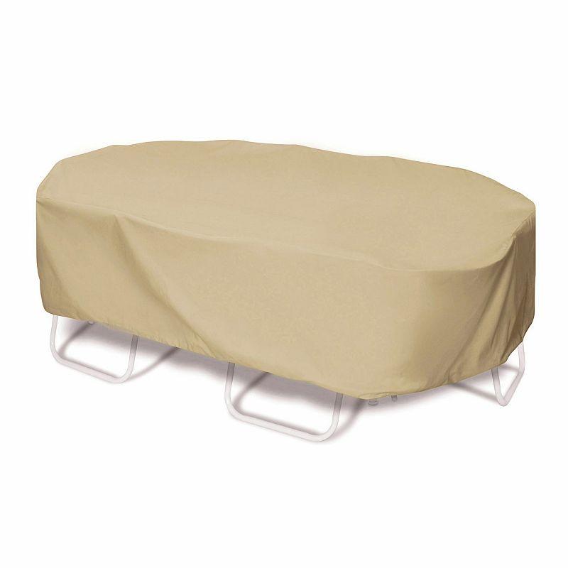 Smart Living 110-in. Oval / Rectangular Table Set Cover