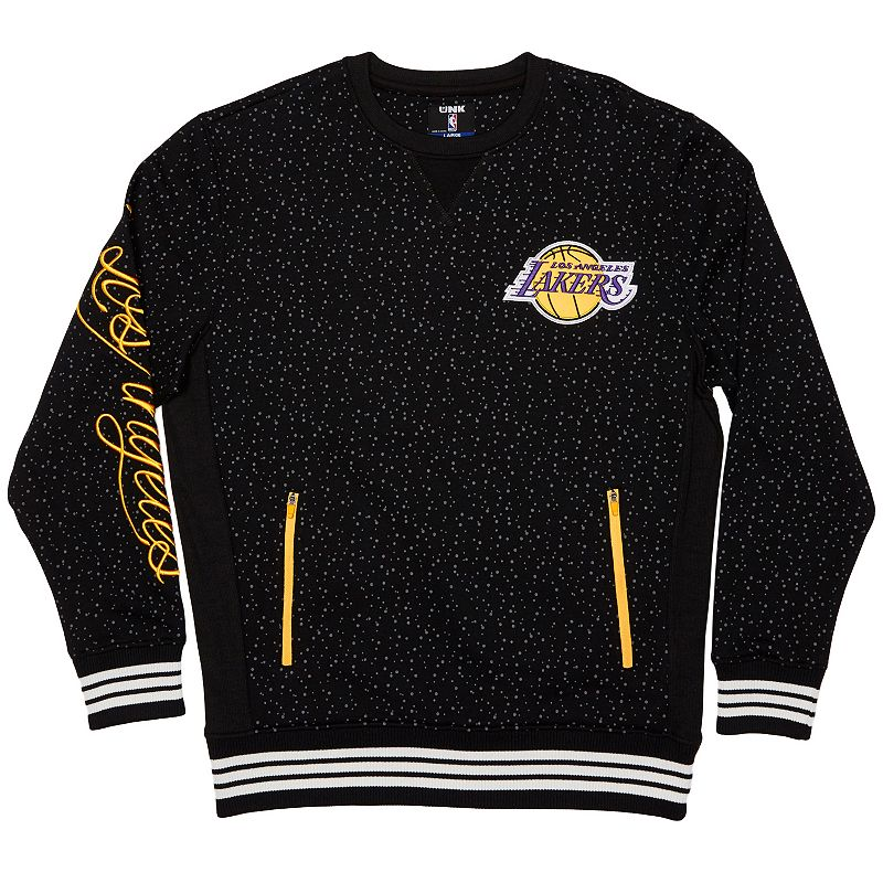 Men's Unk Los Angeles Lakers Speckled Fleece Pullover