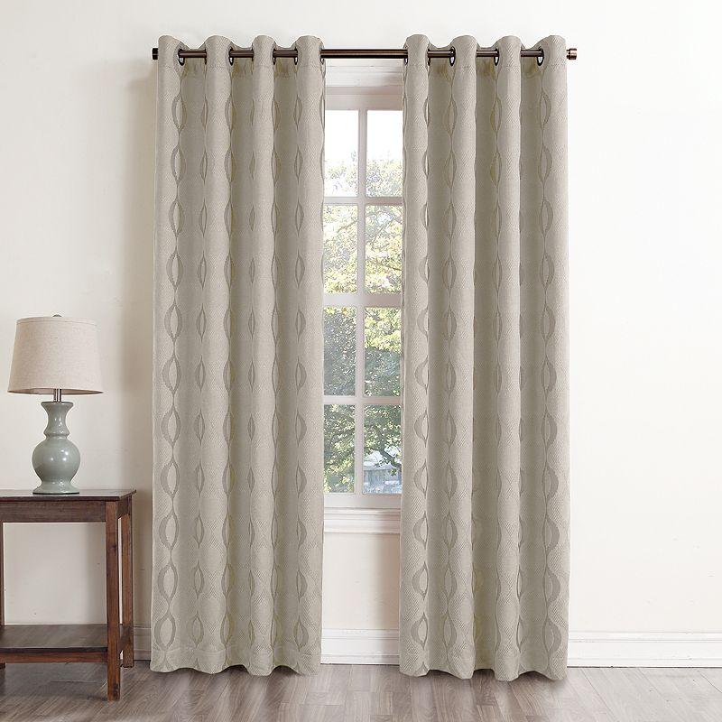 curtain beige khaki home classics energy baker room darkening curtain