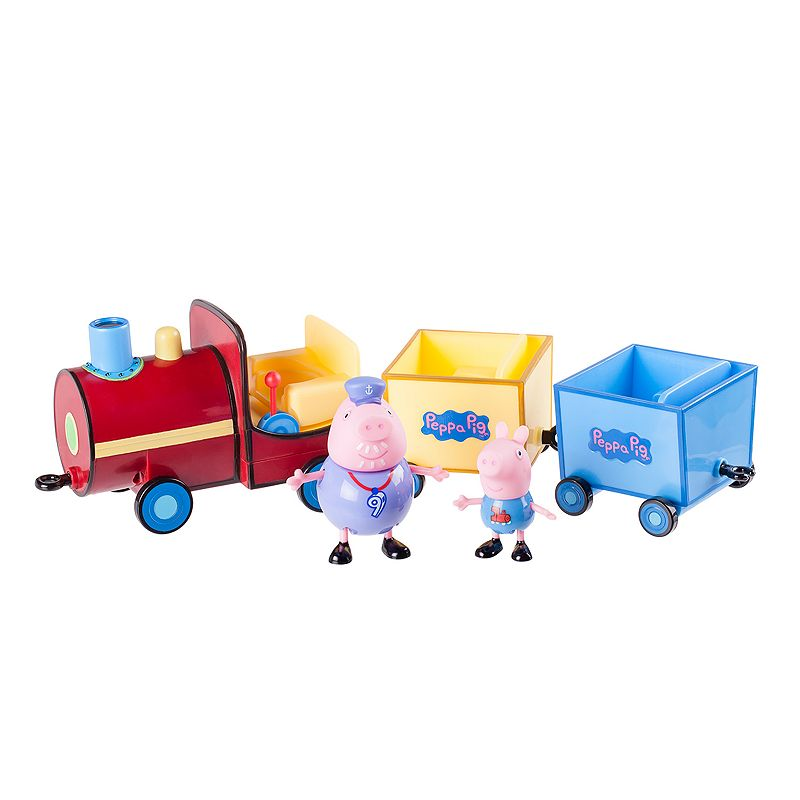 Peppa Pig Grandpa Pig's Push-Along Train Playset