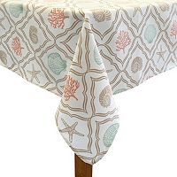 Colordrift Oceana Shell Tablecloth