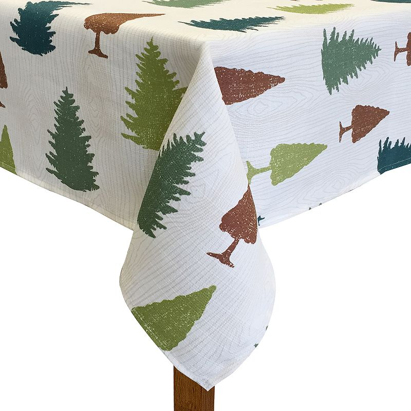Colordrift Forest Pine Tablecloth