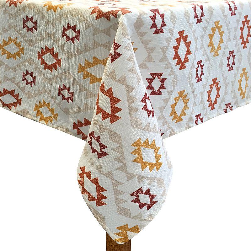 Colordrift Rustic River Tablecloth