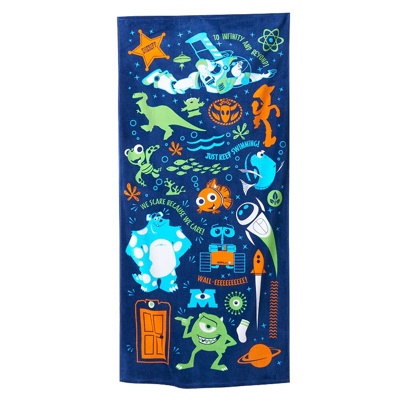 Disney / Pixar Monsters, Inc. Beach Towel by Jumping Beans®