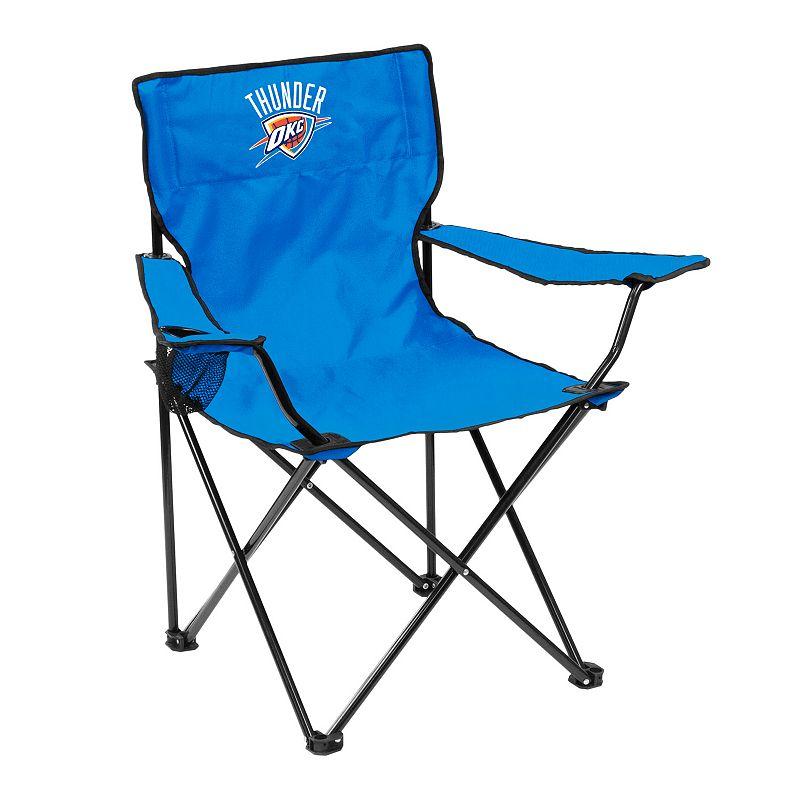 Logo Brand Oklahoma City Thunder Portable Folding Chair