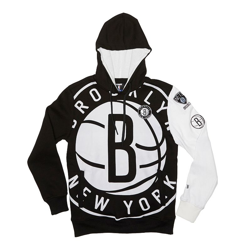 Men's Unk Brooklyn Nets Feelings Pullover Fleece Hoodie