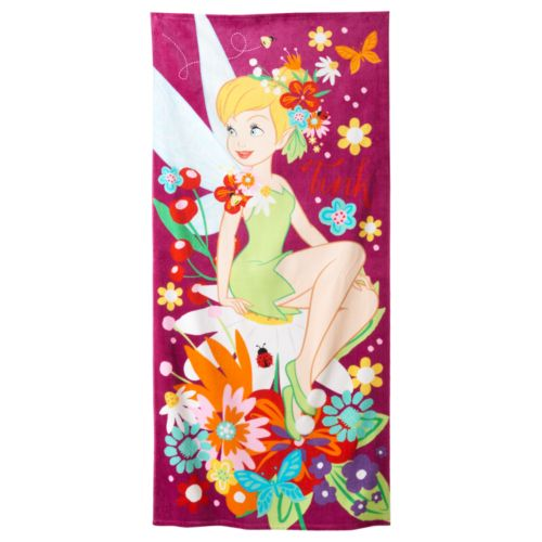Disney's Tinkerbell Beach Towel by Jumping Beans®