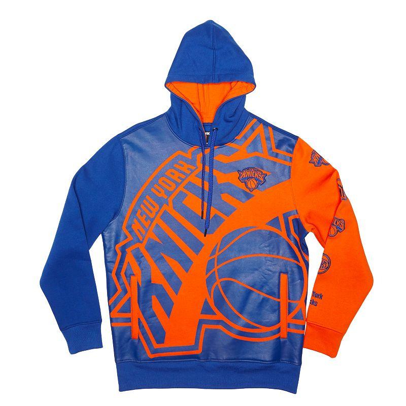 Men's Unk New York Knicks Feelings Pullover Fleece Hoodie