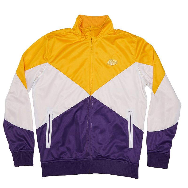 Men's Unk Los Angeles Lakers 4 Points Track Jacket