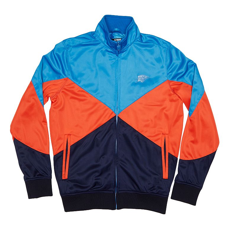 Men's Unk Oklahoma City Thunder 4 Points Track Jacket