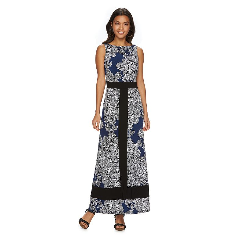 Women's Chaps Paisley Maxi Dress