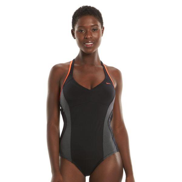 Women's Nike Color Surge One-Piece Racerback Swimsuit
