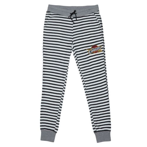 Women's Cleveland Cavaliers Bank Shot Striped Jogger Lounge Pants