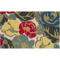 Safavieh Four Seasons Avon Floral Indoor Outdoor Rug by