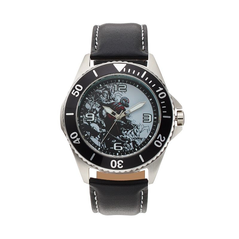 Marvel Ant-Man Men's Leather Watch