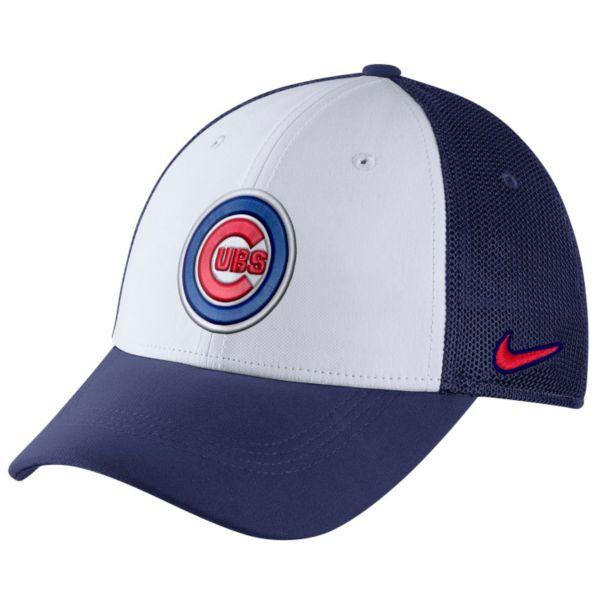 Adult Nike Chicago Cubs Mesh Dri-FIT Flex Cap
