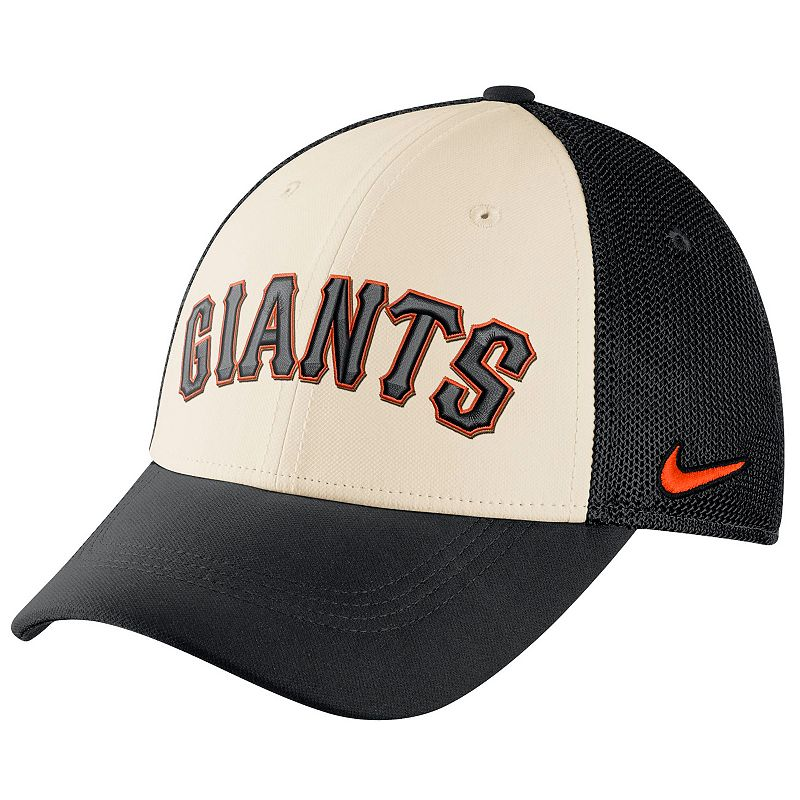 Adult Nike San Francisco Giants Mesh Dri-FIT Flex Cap