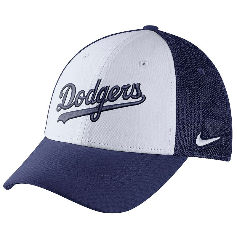 Adult Nike Los Angeles Dodgers Mesh Dri-FIT Flex Cap