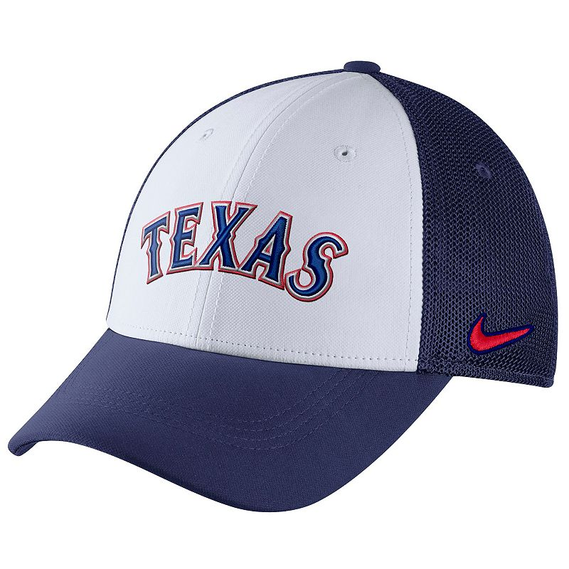 Adult Nike Texas Rangers Mesh Dri-FIT Flex Cap