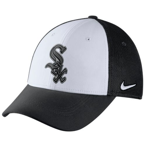 Adult Nike Chicago White Sox Mesh Dri-FIT Flex Cap