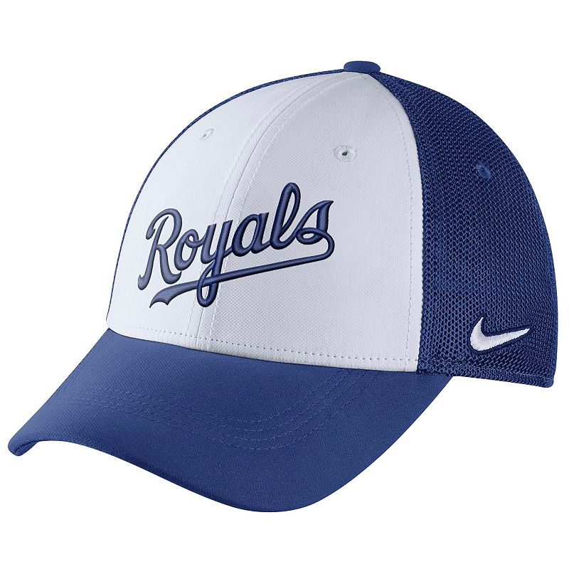 Adult Nike Kansas City Royals Mesh Dri-FIT Flex Cap