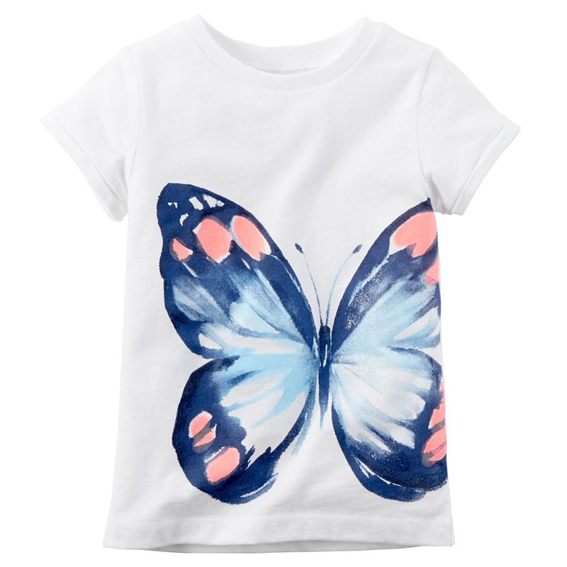 Baby Girl Carter's Watercolor Butterfly Tee