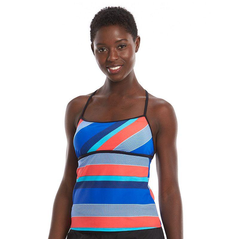 Women's Nike Fast Track Racerback Tankini Top