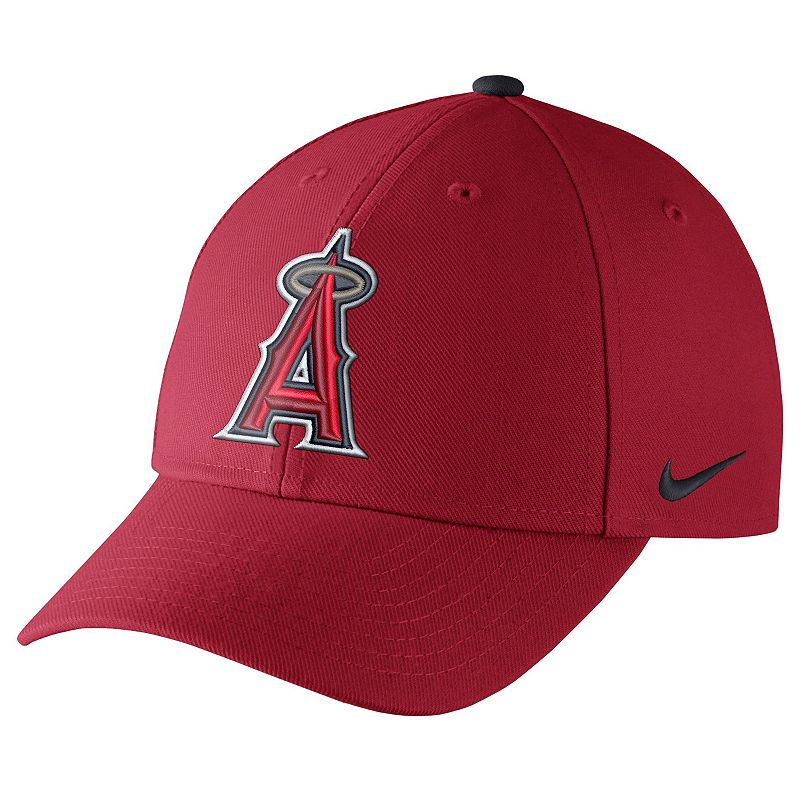 Adult Nike Los Angeles Angels of Anaheim Wool Classic Dri-FIT Adjustable Cap