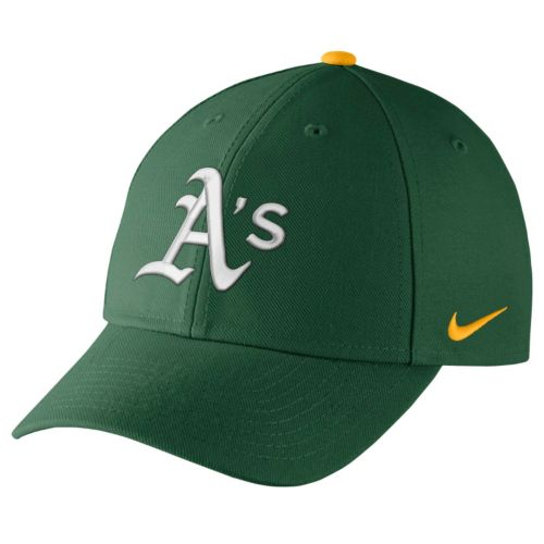 Adult Nike Oakland Athletics Wool Classic Dri-FIT Adjustable Cap
