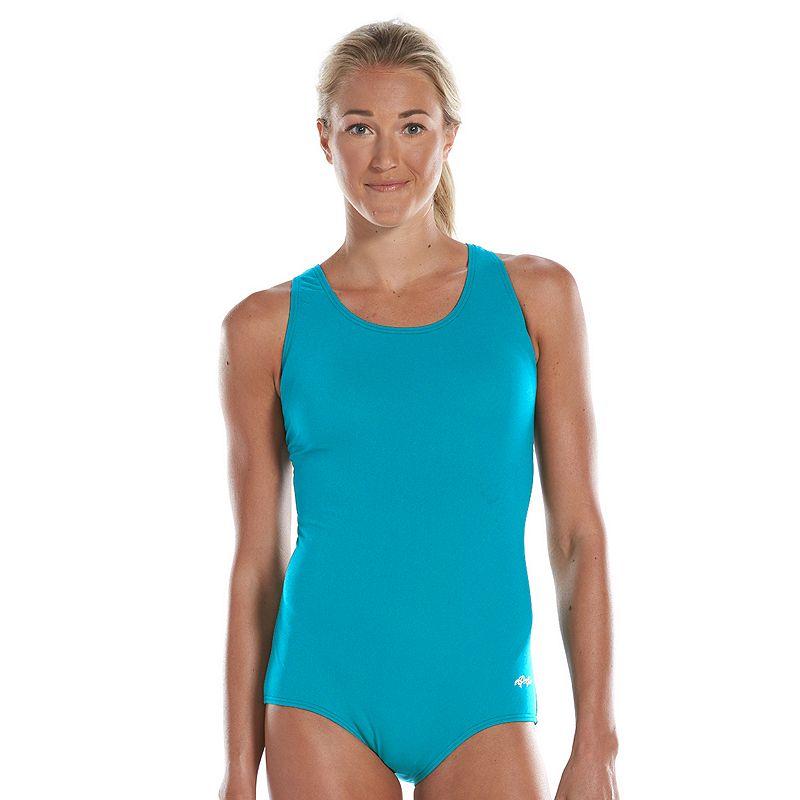 Women's Dolfin Aquashape Conservative One-Piece Lap Swimsuit