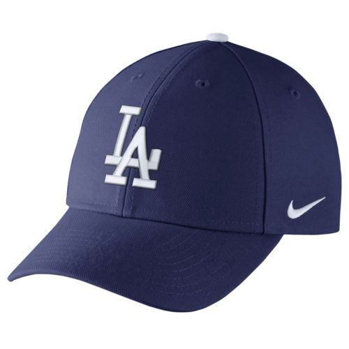 Adult Nike Los Angeles Dodgers Wool Classic Dri-FIT Adjustable Cap