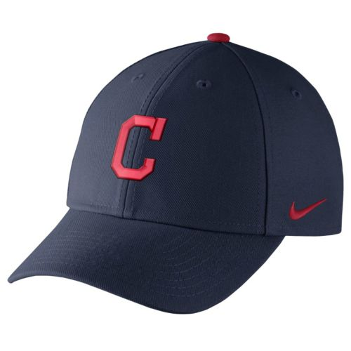 Adult Nike Cleveland Indians Wool Classic Dri-FIT Adjustable Cap