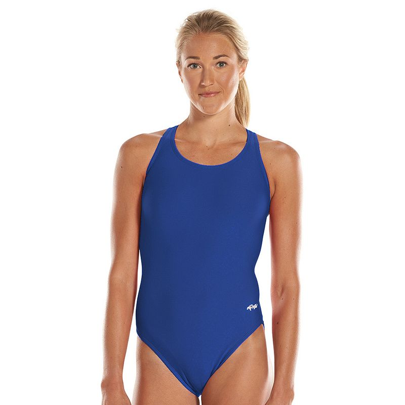 Women's Dolfin Team Solid HP Back Competitive One-Piece Swimsuit
