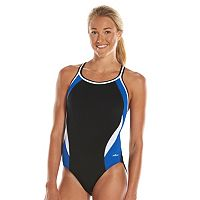 Women's Dolfin Team Colorblock DBX Back Competitive One-Piece Swimsuit
