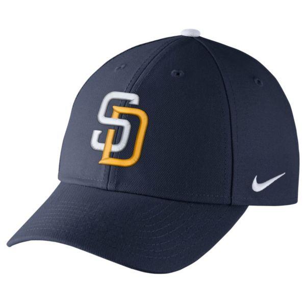 Adult Nike San Diego Padres Wool Classic Dri-FIT Adjustable Cap
