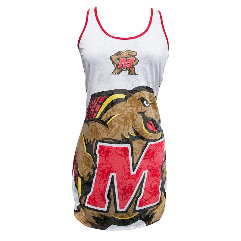 Women's Maryland Terrapins Cameo Nightgown