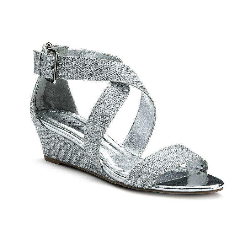 sugar Calla Women's Strappy Wedge Sandals