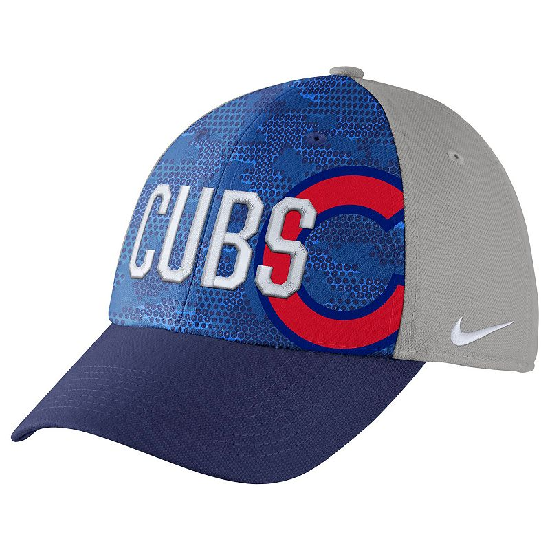 Adult Nike Chicago Cubs Woodland Camo Classic Flex Cap