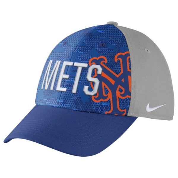 Adult Nike New York Mets Woodland Camo Classic Flex Cap