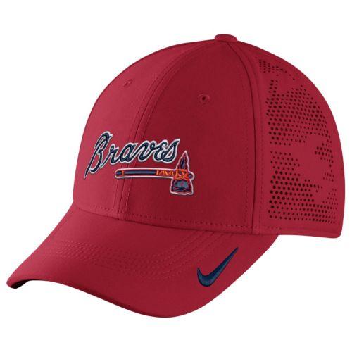 Adult Nike Atlanta Braves Vapor Classic Stretch-Fit Cap