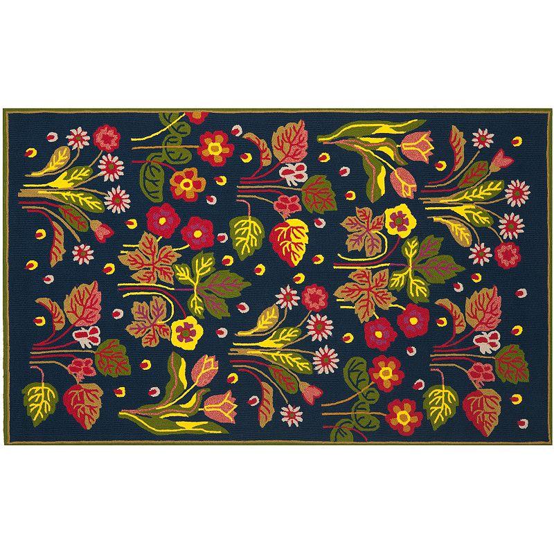 Safavieh Four Seasons Haines Floral Indoor Outdoor Rug