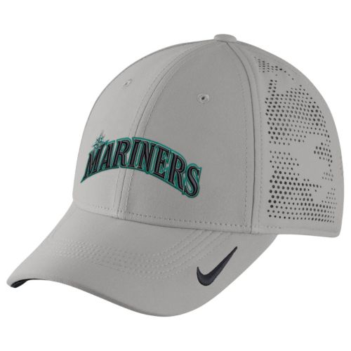 Adult Nike Seattle Mariners Vapor Classic Stretch-Fit Cap