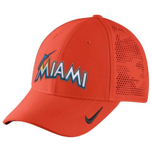Adult Nike Miami Marlins Vapor Classic Stretch-Fit Cap