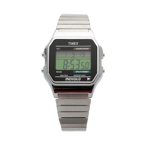 Timex Men's Stainless Steel Expansion Digital Chronograph Watch - T785879J