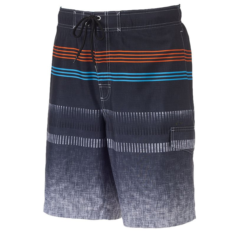 Big & Tall SONOMA Goods for Life™ Rock This House Microfiber Swim Trunks