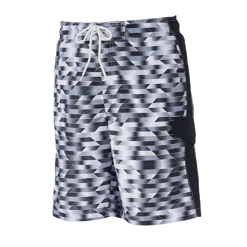 Big & Tall SONOMA Goods for Life™ Beyond The Deep Microfiber Swim Trunks