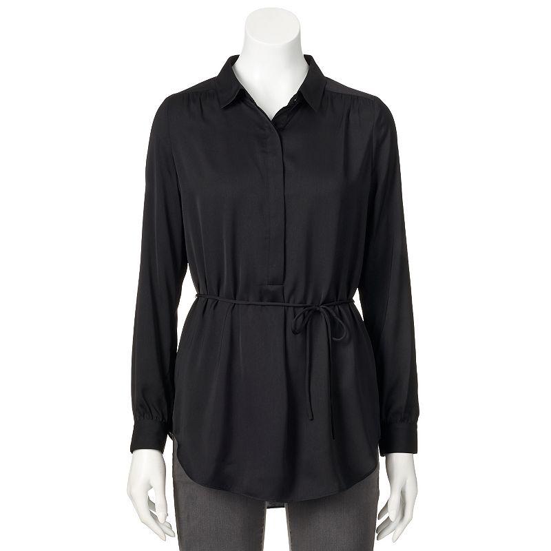 Apt. 9® Tie-Waist Tunic - Women's