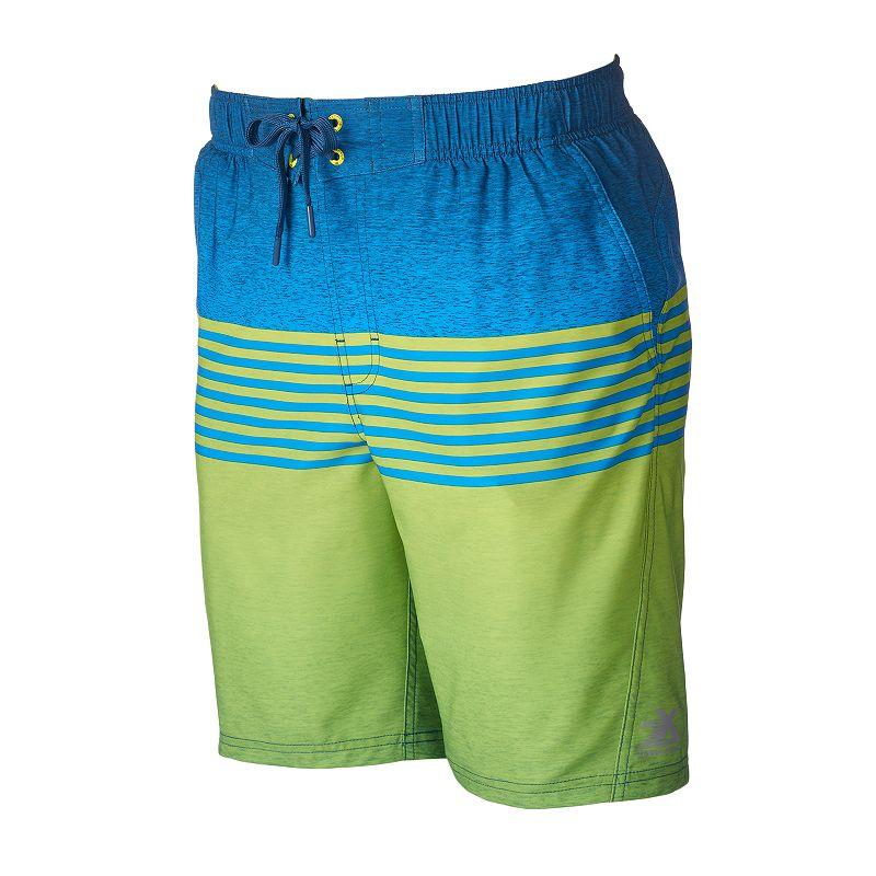 Men's ZeroXposur Guard Plaid Swim Trunks