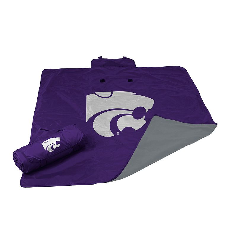 Logo Brand Kansas State Wildcats All-Weather Blanket